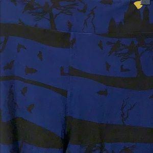 LuLaRoe Pants - LuLaRoe TC2 Halloween Leggings Lightly Worn